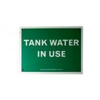 Rain Water Tap Signs