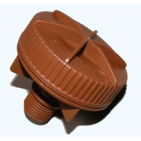 Netafim Flushing Valve 1/2 Brown