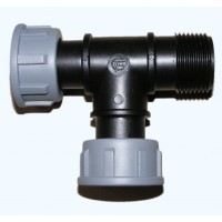 Poly Manifold Swivel Tee 1