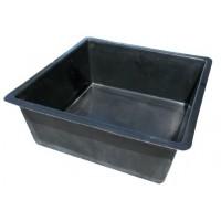 Garden Pond - Fibreglass Medium Square Black