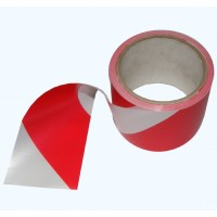 Hazard Tape Red/White