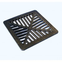 Everhard Storm Water Poly Grate (Black: 260mm)