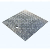 Everhard Storm Water Checkerplate Covers