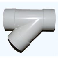 PVC Storm Water 90mm Junction (Y) 45dg