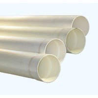 PVC Storm Water Pipe 90mm Slotted and unslotted X 6 Metres