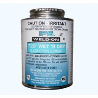Weld On Wet 'r dry Solvent Cement 237ml