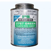 Weld On Solvent Cement Green