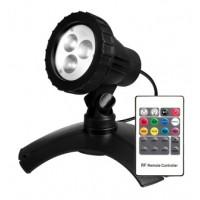 PondMAX 3 LED Multi Colour Pond/Garden Light with Remote