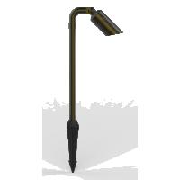 Aqualux Hydra 634mm Adjustable Spike Pathlight