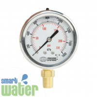 Stainless Steel 65mm Pressure Gauge