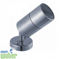 Aqualux: 316 S/S Wall Mounted Adj. Spotlight