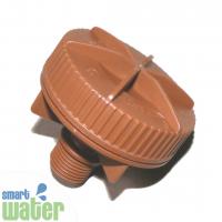 Netafim: Brown Flushing Valve (15mm)