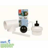 Rain Harvesting: Down-Pipe First Flush Water Diverter