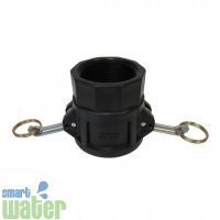 Type D Poly Camlock: Female Coupler to Female
