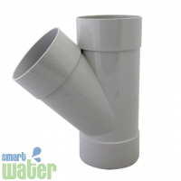 PVC Storm Water 45° Y- Junction (90mm)