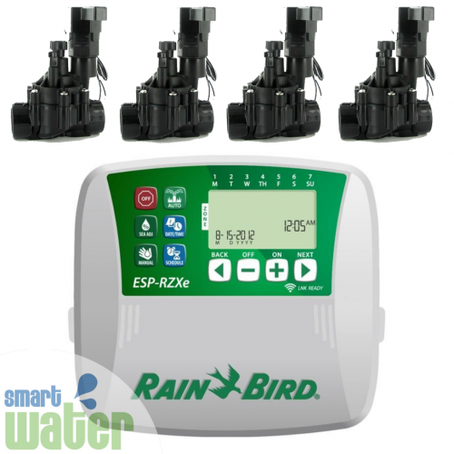 Rain Bird: ESP-RZXe Wi-Fi Enabled Controller & Valves Combo Pack