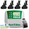 Rain Bird: ESP-RZXe Wi-Fi Enabled Controller, Valves & LNK Module Pack