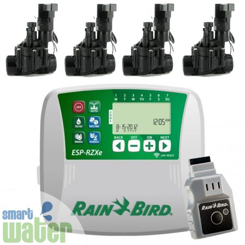 Rain Bird: ESP-RZXe Wi-Fi Enabled Controller, Valves & LNK Module Pack