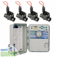 Hunter: X-Core Outdoor Irrigation Controller & Valves Combo Pack