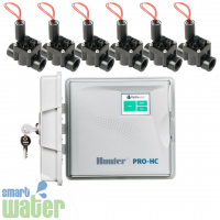 Hunter Hydrawise: Pro-HC Outdoor Controller & Valve Combo Pack
