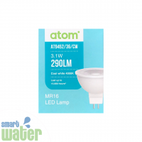 Atom: MR16 LED Cool White Lamps