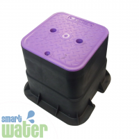 HR: Reclaimed Water Domestic Valve Box (Lilac)