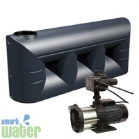 Universal Pumps MULTI-1100 and All Weather 2000L Low Slimline Tank