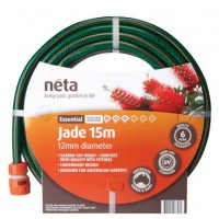 Neta Jade Garden Hose with Fittings 12mm x 30M