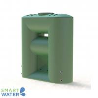 Melro: Slimline Water Tank with Pump Cavity (2060L)