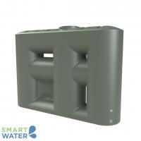 Melro: Slimline Water Tank with Pump Cavity (3060L)