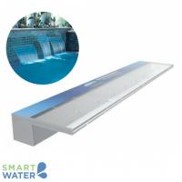 AquaEdge Acrylic Waterwall: Bottom Entry with 125mm Lip