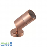 Aqualux: Copper Wall Mounted Adj. Spot Light