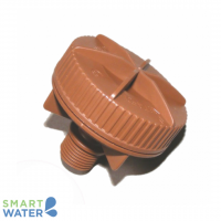 Netafim: Brown Flushing Valve (15mm)