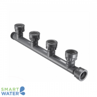 PVC 4-Way Outlet Manifold