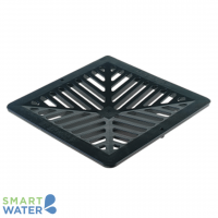 Everhard: Black Poly Storm Water Grate (260 Series)