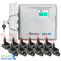Hunter Hydrawise: Pro-HC O/D Controller & PGV F/C Solenoid Valves (12 Zone)