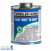 Weld On: Wet 'R Dry Solvent Cement (237ml)