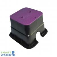 HR: Small Square Lilac Valve Box (150 x 150 x 210mm)