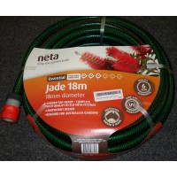 Neta Jade garden Hose with fittings 18mm x 18m